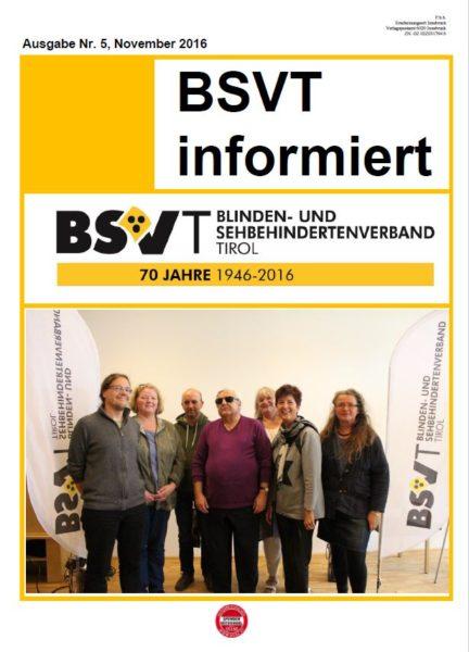 Titelbild Rundschreiben: langjährige Mitarbeiter im BSVT.