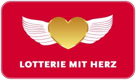 Logo Lotterie mit Herz