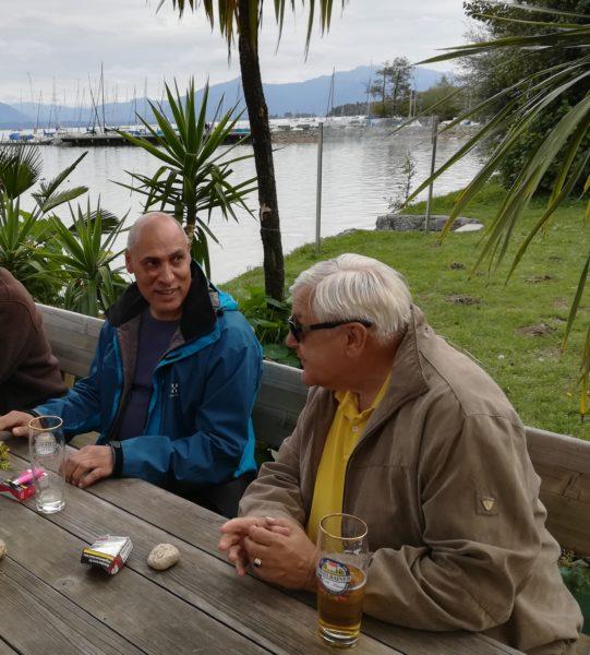 Unser Obmann Klaus Guggenberger begleitete die Reise.