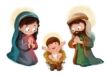 Maria, Josef und Jesus