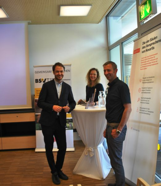 Doz. Dr. Claus Zehetner, Kathrin Richter-Schildberg,  Ing. Helmut Schernthaner (Miller Optik)