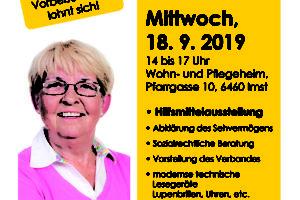 Plakat BSVT vor Ort in Imst