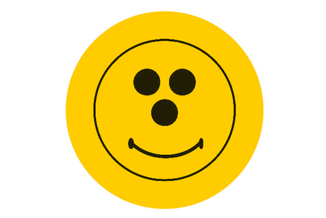 Piktogramm Smiley