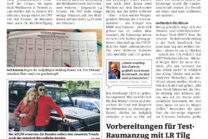 Bericht im Stadtblatt