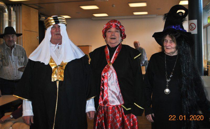 Dietmar Graff (Scheich), Hannelore Beiler (Schottin) Beate Krames (Hexe)