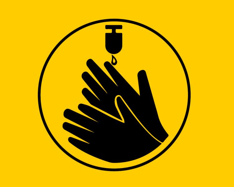 Piktogramm Händedesinfektion