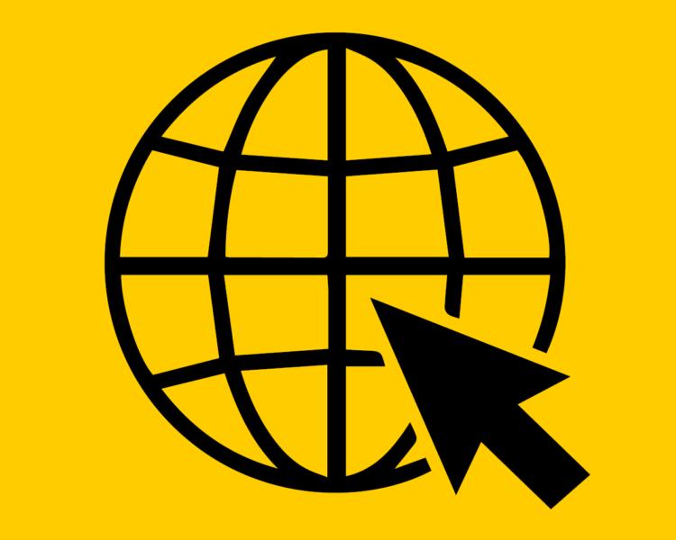 Icon für Internet