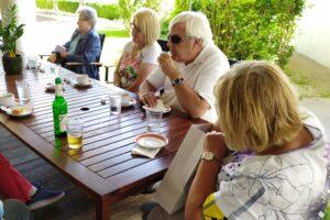 Klaus Guggenberger freut sich wieder die SEnioren im BSZ Tirol begrüßen zu können